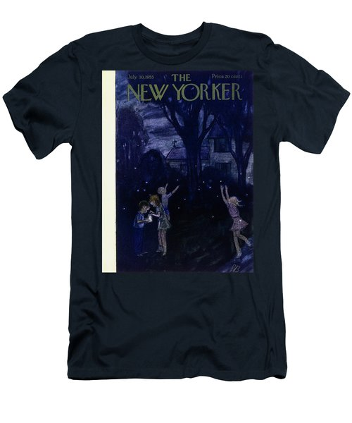 New Yorker July 30 1955 Men's T-Shirt (Athletic Fit)