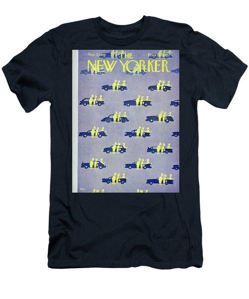New Yorker November 7 1959 Men's T-Shirt (Athletic Fit)
