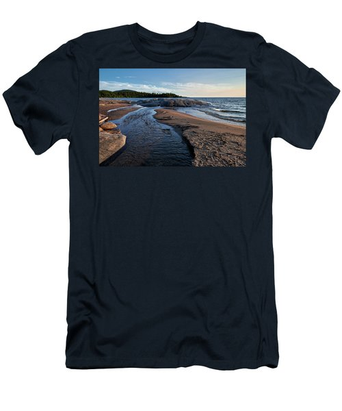 Men's T-Shirt (Athletic Fit) featuring the photograph Neys Delta by Doug Gibbons