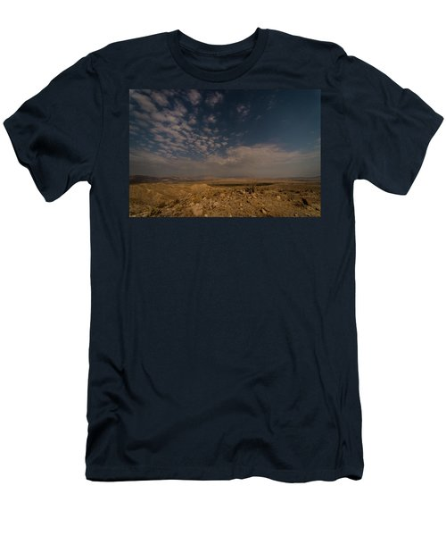 Night By Moonlight Men's T-Shirt (Athletic Fit)