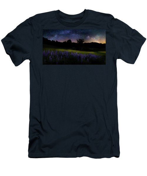 Men's T-Shirt (Slim Fit) featuring the photograph Night Flowers by Bill Wakeley