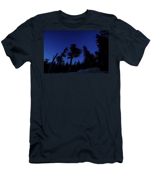 Men's T-Shirt (Athletic Fit) featuring the photograph Night Giants by Margaret Pitcher