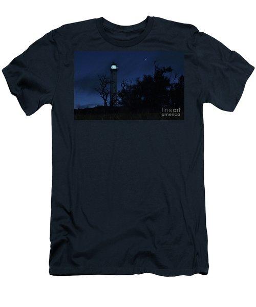 Men's T-Shirt (Slim Fit) featuring the photograph Night Light Kalaupapa by Craig Wood