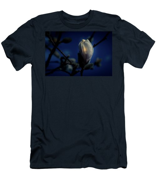Men's T-Shirt (Athletic Fit) featuring the photograph Night Lights by Allin Sorenson