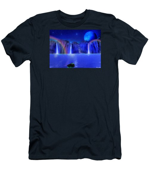 Men's T-Shirt (Slim Fit) featuring the photograph Nightdreams by Bernd Hau