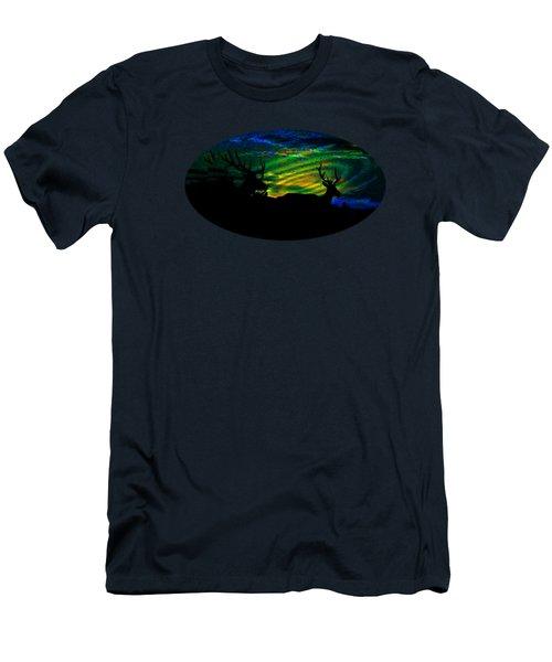 Nightwatch Men's T-Shirt (Slim Fit) by Mike Breau