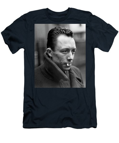 Nobel Prize Winning Writer Albert Camus Unknown Date #1 -2015 Men's T-Shirt (Athletic Fit)