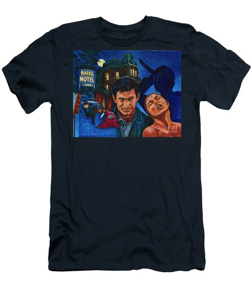 Men's T-Shirt (Slim Fit) featuring the painting Norman by Michael Frank