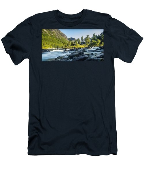 Norway II Men's T-Shirt (Slim Fit) by Thomas M Pikolin