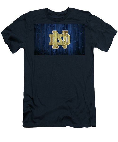 Notre Dame Barn Door Men's T-Shirt (Athletic Fit)
