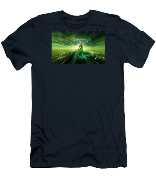 Nymph Of July Men's T-Shirt (Athletic Fit)
