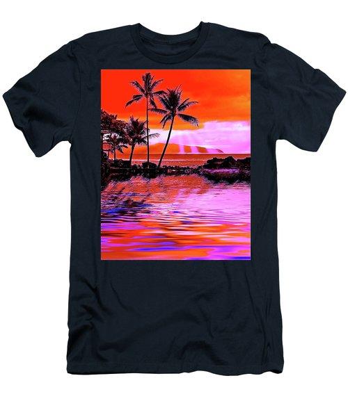 Oahu Island Men's T-Shirt (Athletic Fit)