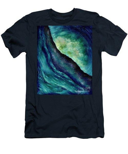 Ocean Meets Sky Men's T-Shirt (Athletic Fit)