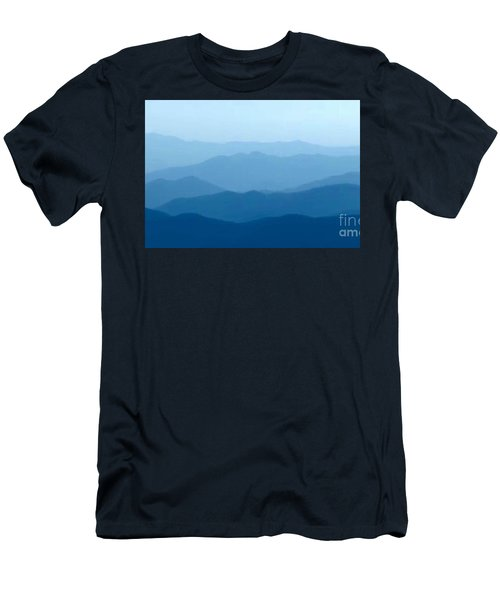Ocean Waves Men's T-Shirt (Slim Fit) by Anthony Fishburne