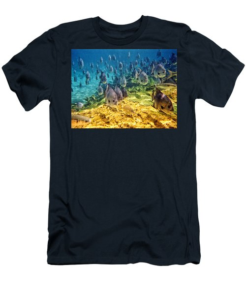 Oceans Below Men's T-Shirt (Athletic Fit)