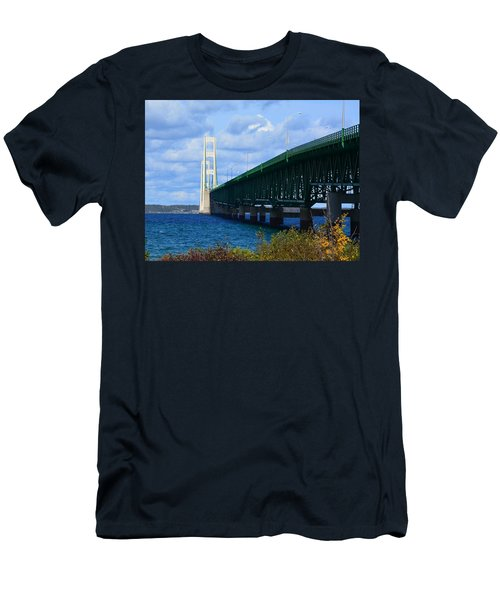 October At The Straits Of Mackinac Men's T-Shirt (Athletic Fit)