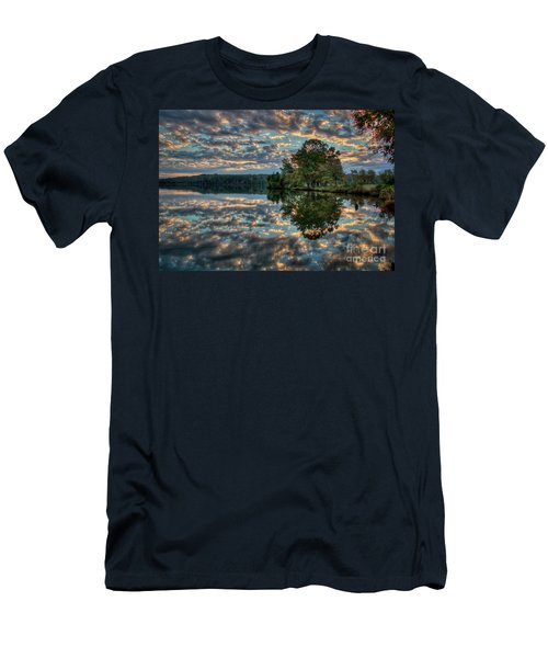 Men's T-Shirt (Slim Fit) featuring the photograph October Skies by Douglas Stucky