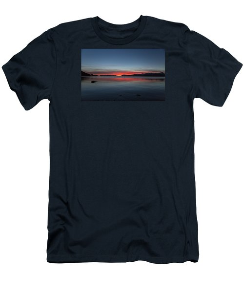 October Sunset II Men's T-Shirt (Athletic Fit)