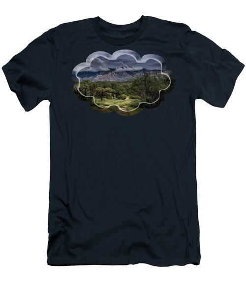 Odyssey Into Clouds Men's T-Shirt (Slim Fit) by Mark Myhaver