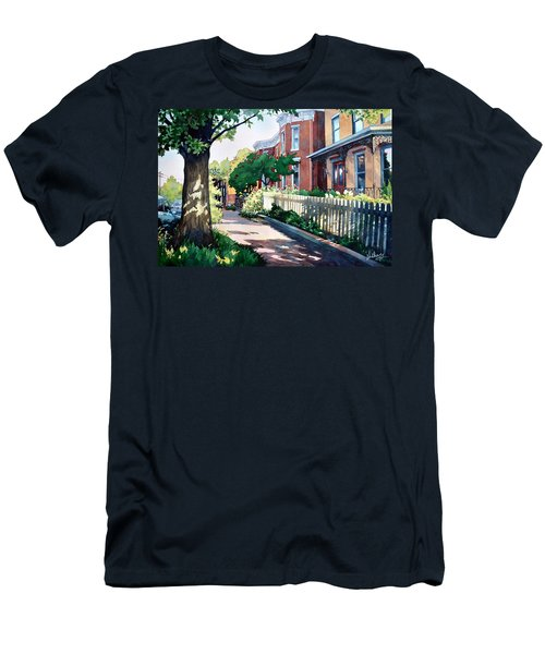 Old Iron Porch Men's T-Shirt (Athletic Fit)