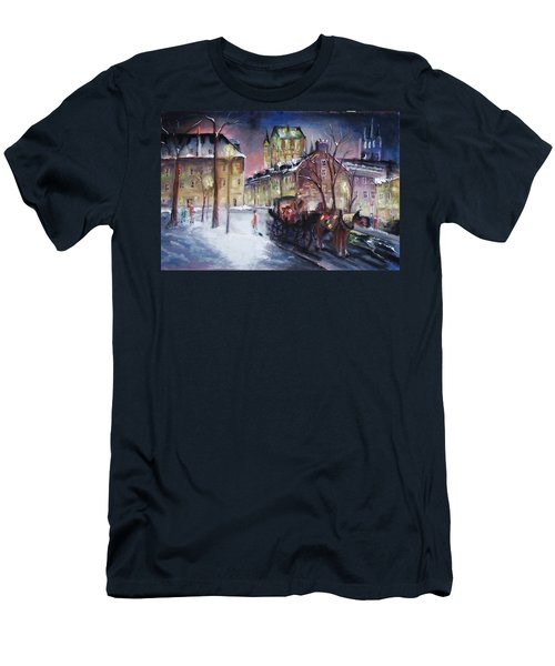 old Quebec Men's T-Shirt (Athletic Fit)