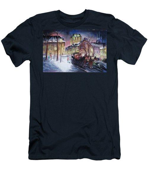 old Quebec Men's T-Shirt (Athletic Fit)