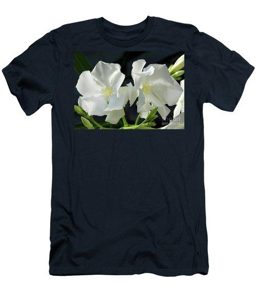 Oleander Mont Blanc 1 Men's T-Shirt (Athletic Fit)
