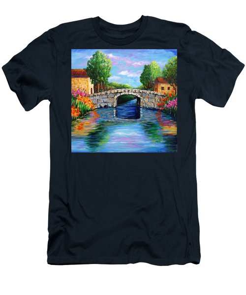 On The Other Side Of The Bridge Men's T-Shirt (Athletic Fit)