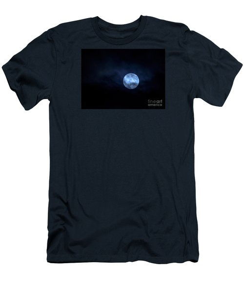 Once In A Blue Moon Men's T-Shirt (Slim Fit)