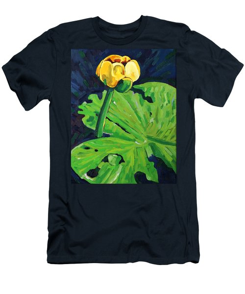 One Yellow Lily Men's T-Shirt (Athletic Fit)