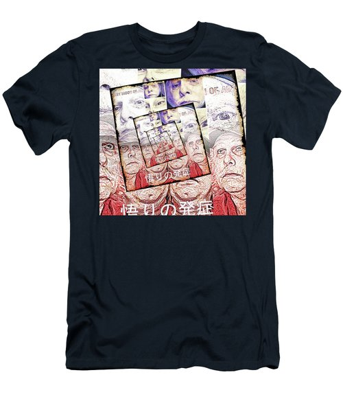 Onset Of Enlightenment Men's T-Shirt (Slim Fit) by Tobeimean Peter