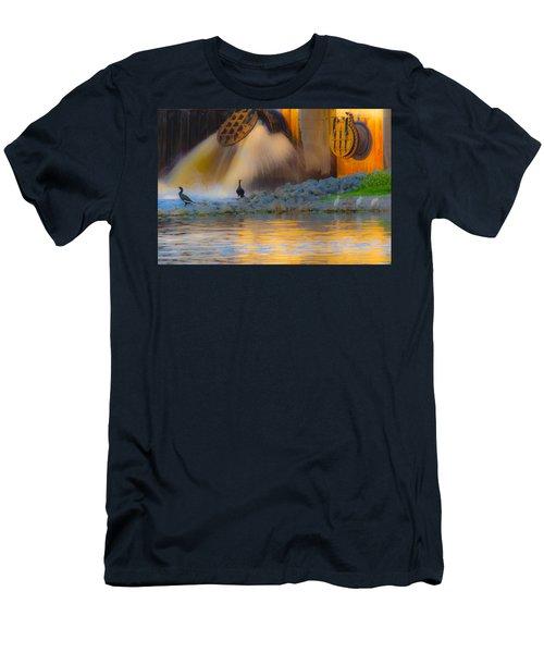 Open The Dam Men's T-Shirt (Athletic Fit)