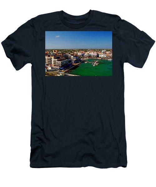 Oranjestad Aruba Men's T-Shirt (Athletic Fit)