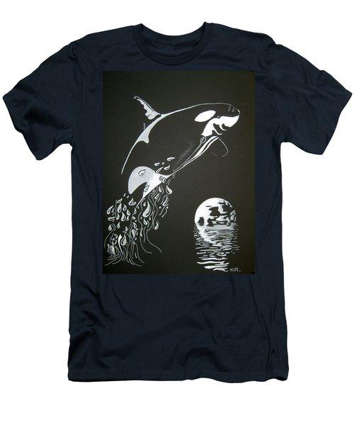 Orca Sillhouette Men's T-Shirt (Athletic Fit)