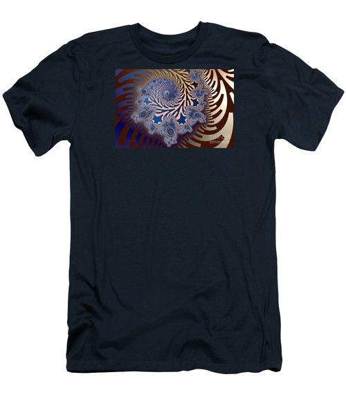 Men's T-Shirt (Slim Fit) featuring the digital art Ornamental by Karin Kuhlmann
