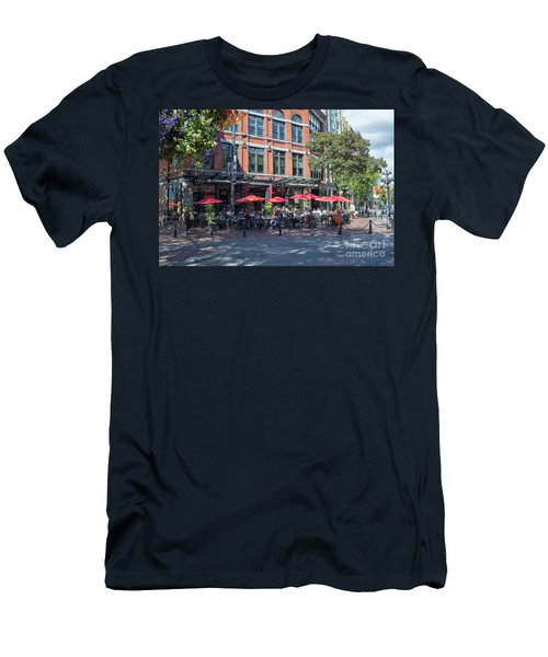 Oudoors Restaurant Vancouver Men's T-Shirt (Athletic Fit)