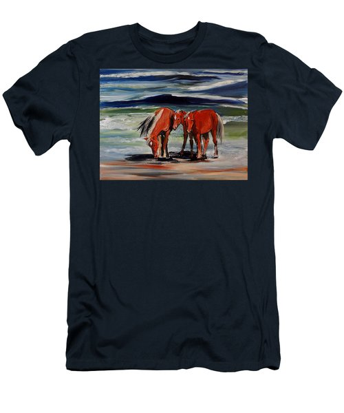 Outer Banks Wild Horses Men's T-Shirt (Athletic Fit)