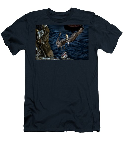 Outstretched Wings Men's T-Shirt (Slim Fit) by James David Phenicie