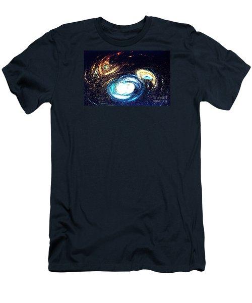 Men's T-Shirt (Slim Fit) featuring the photograph Oval Dream - Modern Art by Merton Allen