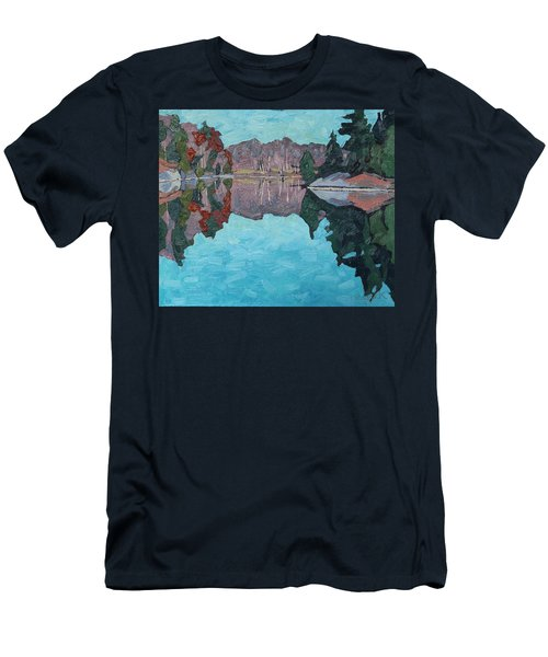 Paddling Home Men's T-Shirt (Athletic Fit)