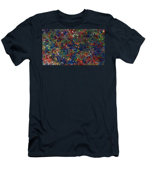 Paint Number 1 Men's T-Shirt (Athletic Fit)