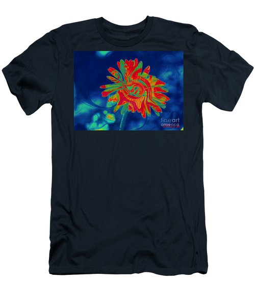 Men's T-Shirt (Athletic Fit) featuring the photograph Paisley Gerber by Donna Bentley