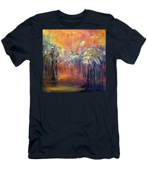 Palm Passage Men's T-Shirt (Athletic Fit)