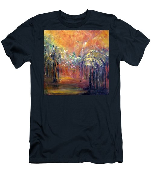 Palm Passage Men's T-Shirt (Athletic Fit)