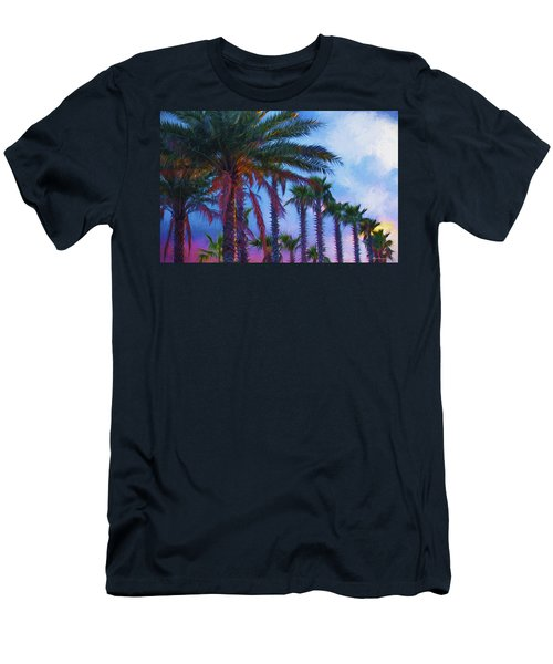 Palm Trees 3 Men's T-Shirt (Slim Fit) by Glenn Gemmell