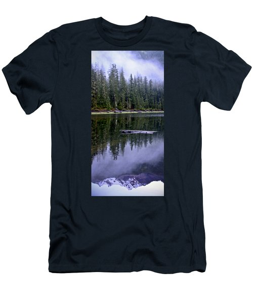 Pamelia Lake Reflection Men's T-Shirt (Athletic Fit)