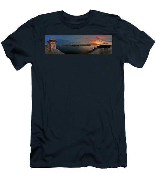 Panoramic View Of Havana From La Cabana. Cuba Men's T-Shirt (Athletic Fit)