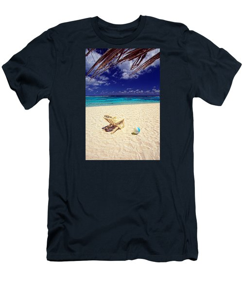 Paradise Beach Ball Men's T-Shirt (Athletic Fit)