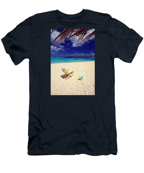 Paradise Beach Ball Men's T-Shirt (Athletic Fit)