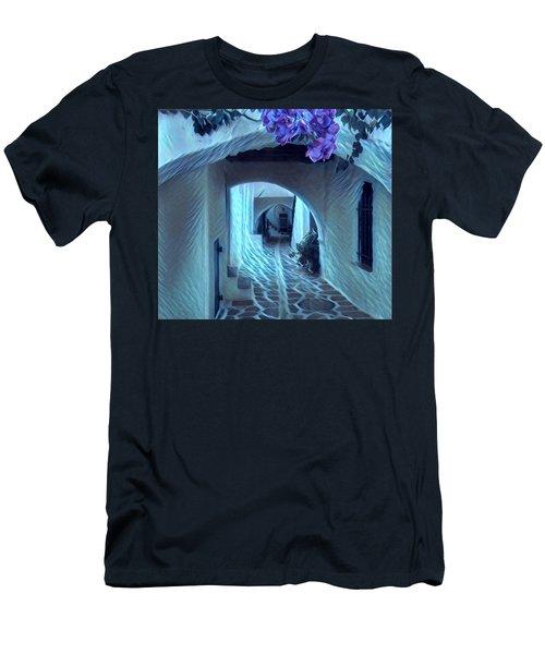 Paros Island Beauty Men's T-Shirt (Athletic Fit)